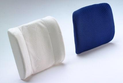 Backrest cushions - Backrest cushions in memory foam and cover