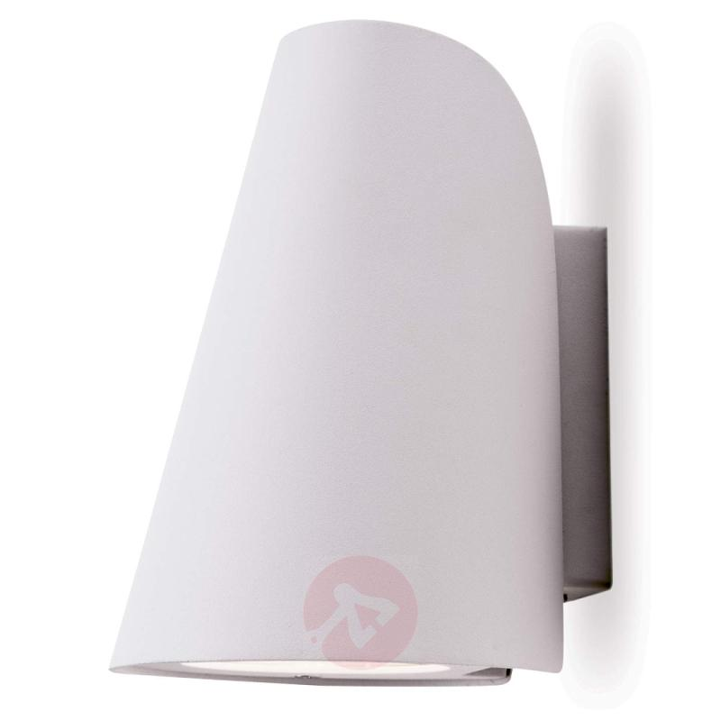 White LED outdoor wall lamp Ulick - outdoor-led-lights