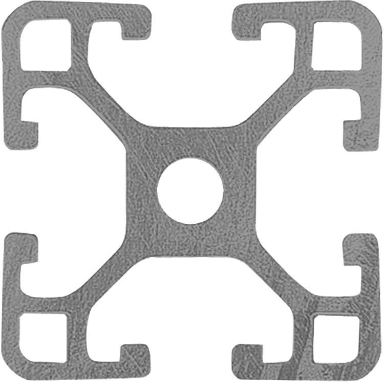 Profilés aluminium 30x30 légers Type I - Profilés aluminium