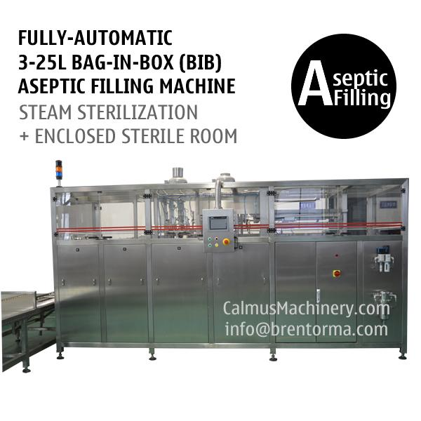 Fully-automatic Bag in Box Aseptic Filling System