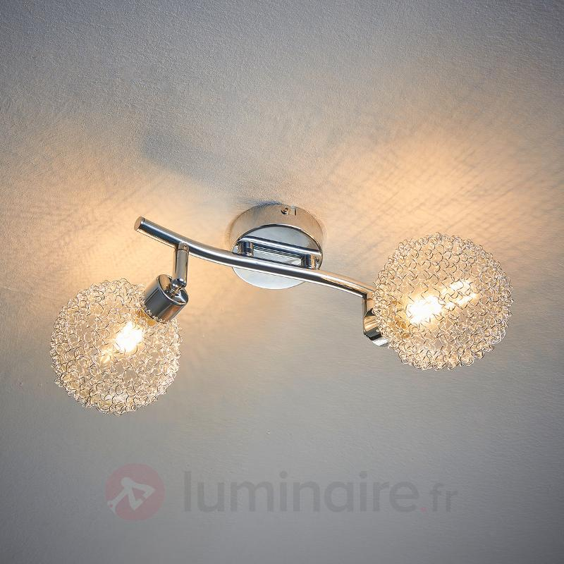 Plafonnier LED à 2 lampes Ticino - Plafonniers LED