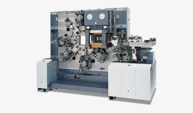 Mechanischer Stanzbiegeautomat - MC 120 - Mechanischer Stanzbiegeautomat MC 120 mit zwei Bearbeitungsseiten.