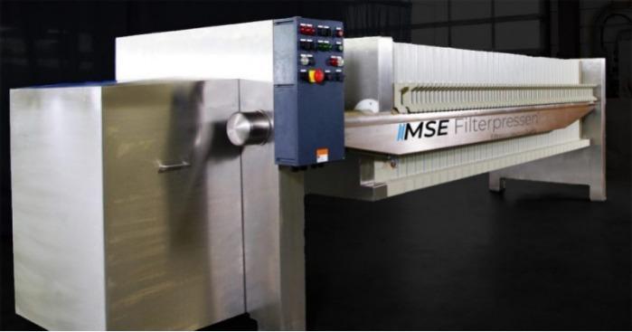Filtropressa in acciaio inossidabile - La filtropressa in acciaio inossidabile - Alta protezione dalla corrosione