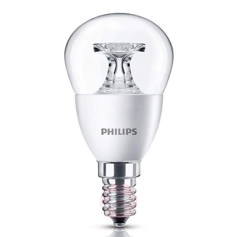 E14 4 W 827 LED golf ball bulb, clear - light-bulbs