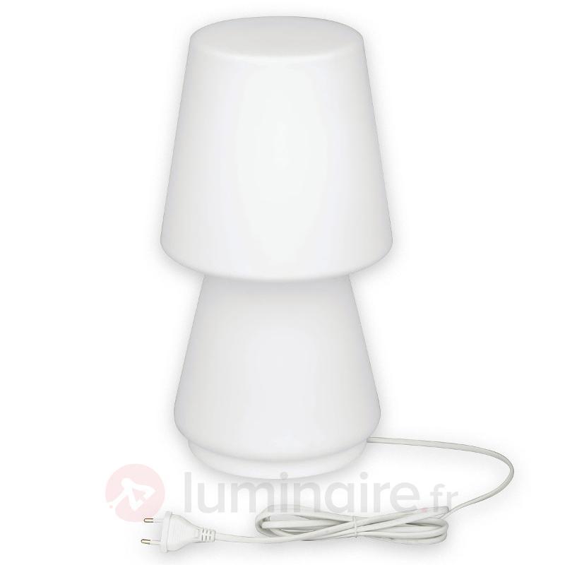 Lampe à poser LED Tam avec RVB et télécommande - Lampes à poser LED