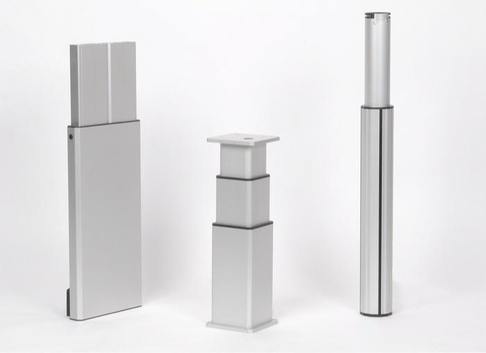 Colonnes télescopiques - ou comment simplifier le réglage en hauteur