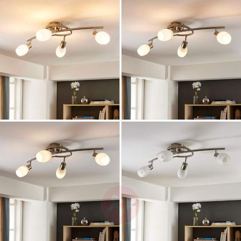 LED ceiling lamp Arda dimmable via a switch - Spotlights