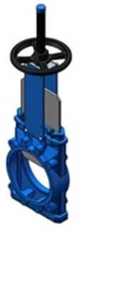 Vanne guillotine sous-silo Modèle KG06 - null