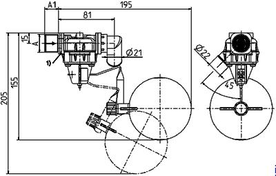 Float valve, DN 17, float ball - 21.017.126, 1