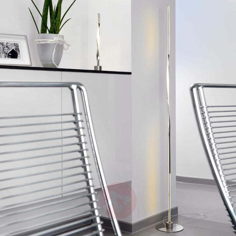 LED floor lamp Twister- 160 cm tall - Floor Lamps
