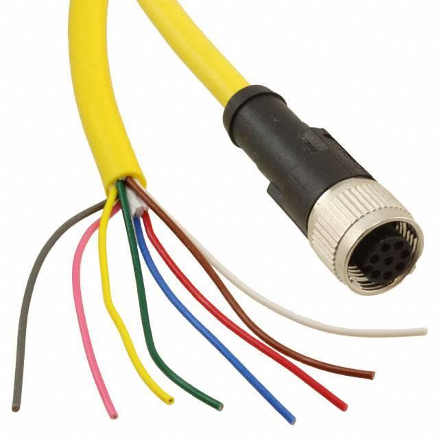 SENSOR/ACTUATOR CABLE 8POS 5M - Phoenix Contact 1406104