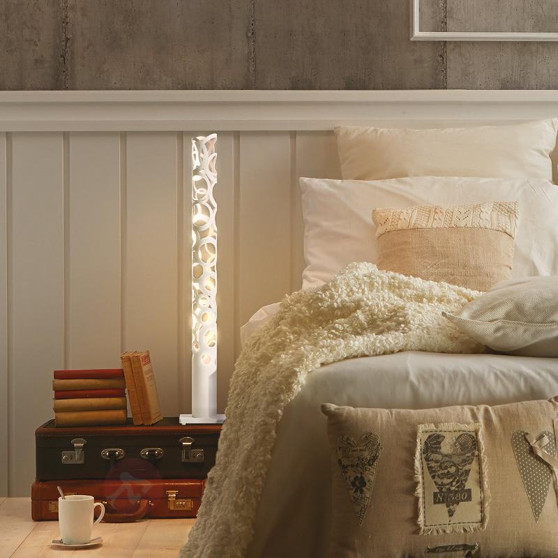 Lampe à poser design Thor, blanc - Lampes à poser designs