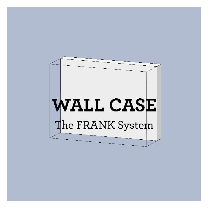 FRANK Wall showcases - The FRANK system: modular showcases for temporary & permanent exhibitions