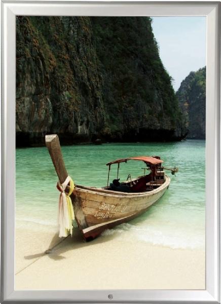 Click Frames - Cadre click avec vis de bloquage