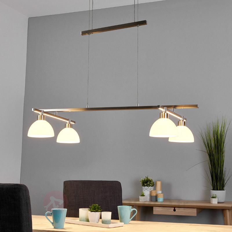 Suspension LED réglable Evanna - Suspensions LED