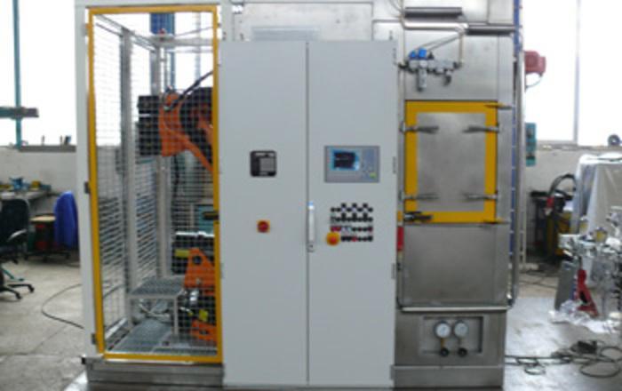 Kabinen - Wasch - Endgratanlage für AGW - Module - null