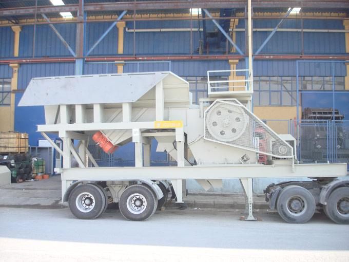 Mobile Primary Crushing Units With Jaw Crusher - null