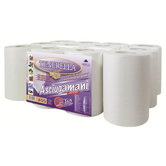 Bobine pure ouate blanche type 200F micro gaufrée 20 x... - Essuyage