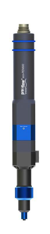 Precision volume dispenser eco-PEN600  -  Volume flow rate 1.4 to 16.0 ml/min