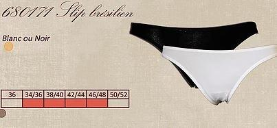 Slip brésilien - Coton - Lingerie pour Femmes