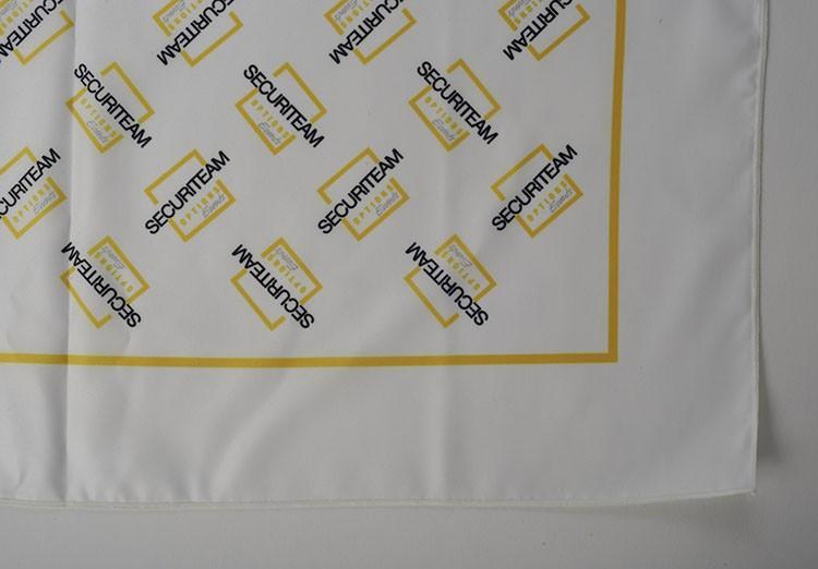 Foulard imprimé polyester - agence de sécurité