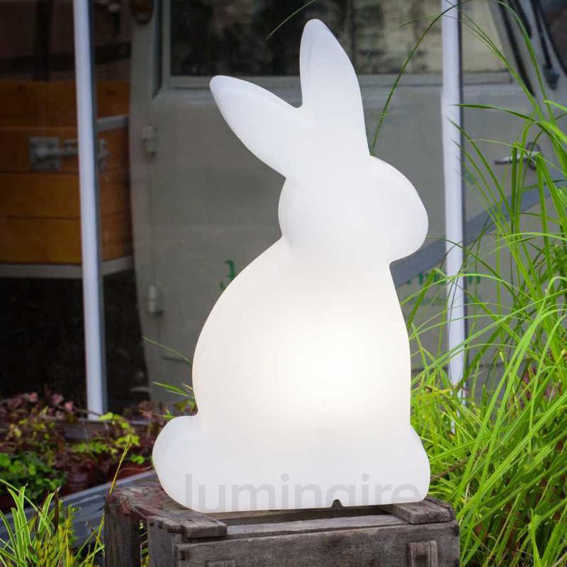 Lampe décorative LED Shining Rabbit, 50 cm - Lampes décoratives d'extérieur