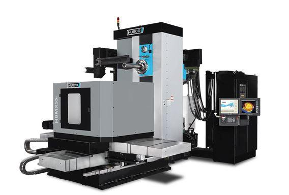 Horizontal-4-Axis-Machining-Center - HBMX 55i - Power and unbeatavle value - the ideal machine for medium sized 4-axis parts