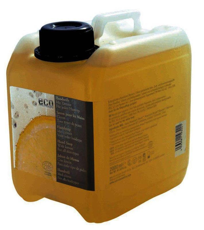 ECO Handseife mit Zitrone 2000ml - Nachfüllkanister - null