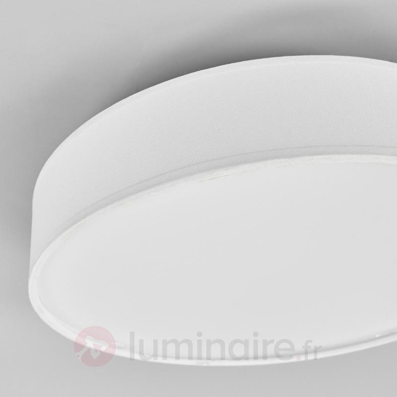 Plafonnier en tissu LED Saira - Plafonniers en tissu