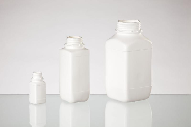 PE Chemical bottles - Rectangular bottles