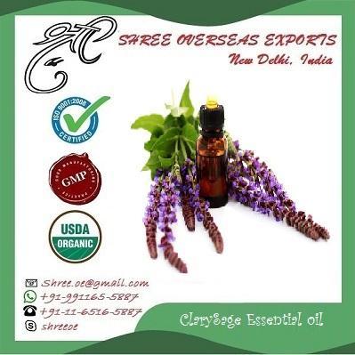 Organic Clary Sage Oil  - USDA Organic