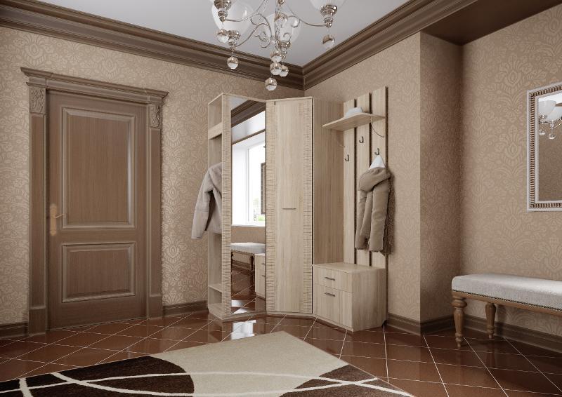 """Hallway """"Elana"""" Sonoma Oak - Hallway furniture"""