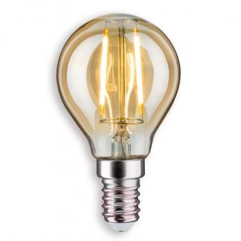E14 2.5 W 825 LED candle bulb, twisted, gold - light-bulbs