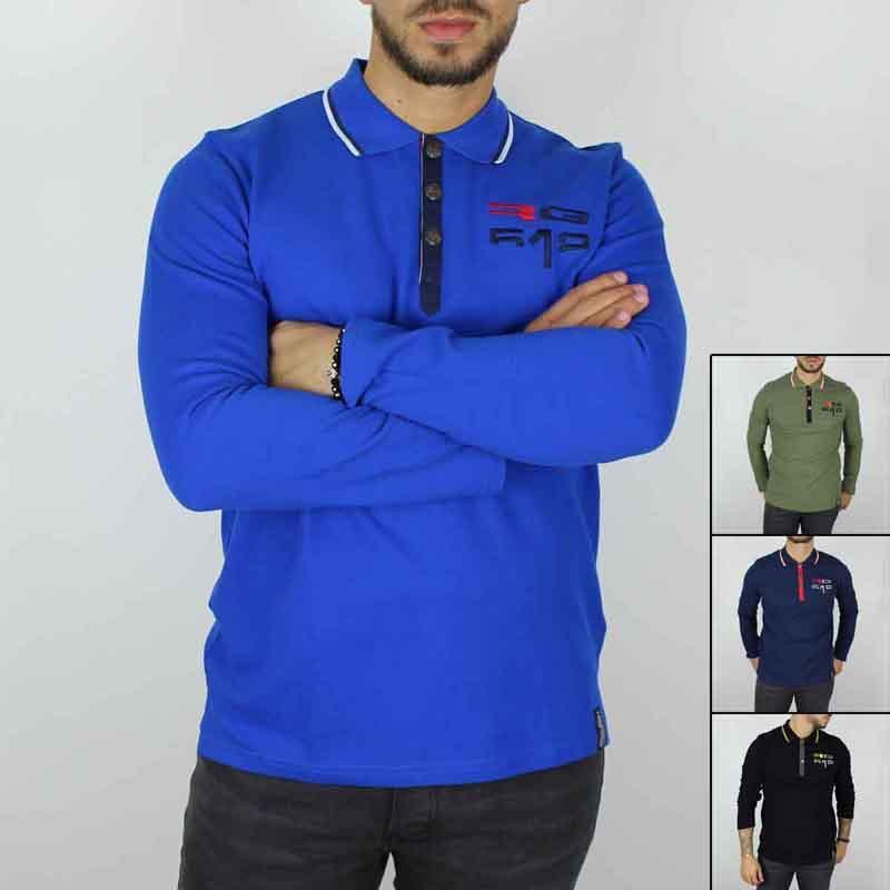 Distributor Polo men licenced RG512 - T-shirt and polo long sleeve