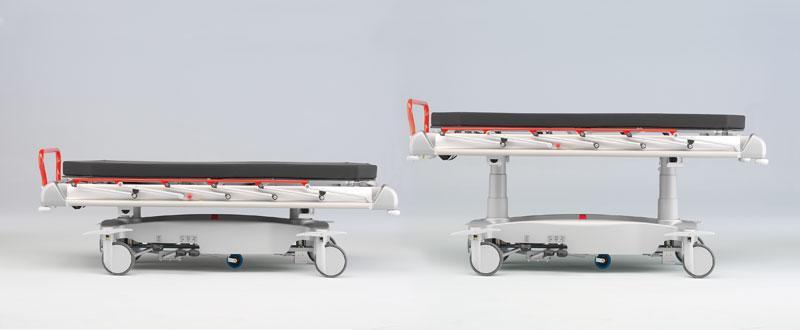 STS 282 Patient Stretcher - Patient Stretcher for Emergencies and Outpatient Departments