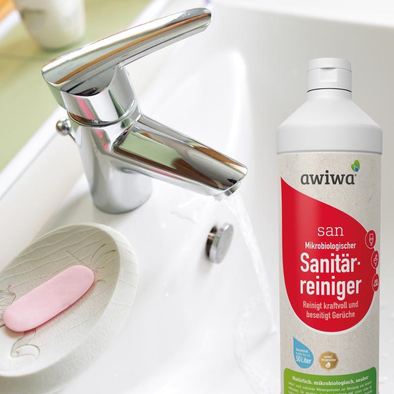 san – mikrobiologischer Sanitärreiniger - Badreiniger