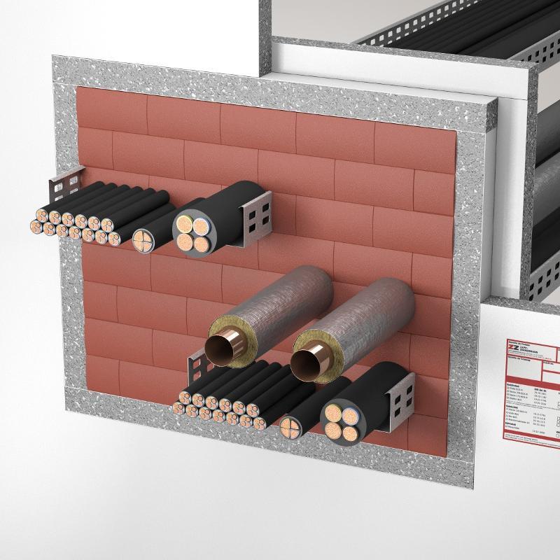 Abschottungssysteme Kombiabschottung - System ZZ-Steine 200 BDS-N