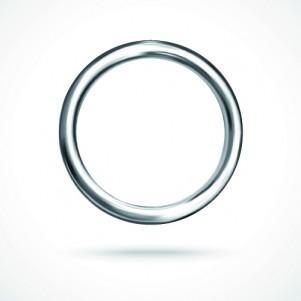 Anneaux en fil métallique - null
