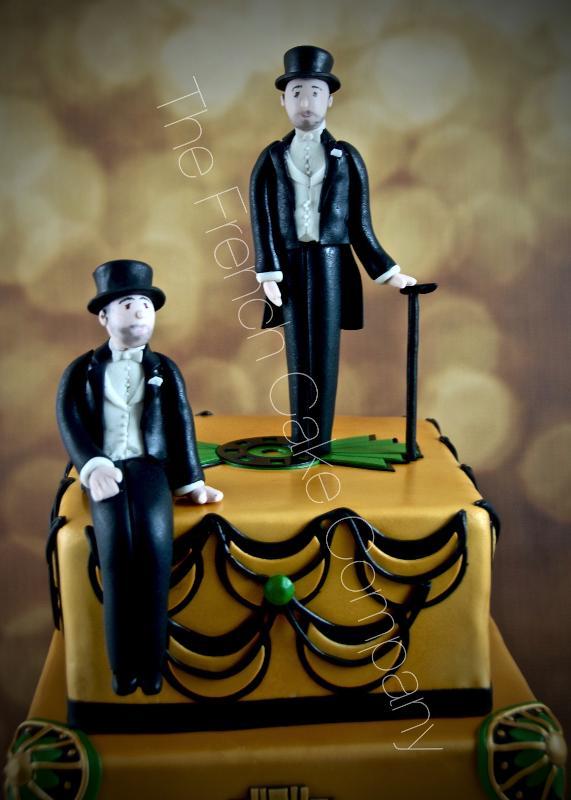 Gâteaux et Pièces Montées sur-mesure - Figurines pour mariage Gay
