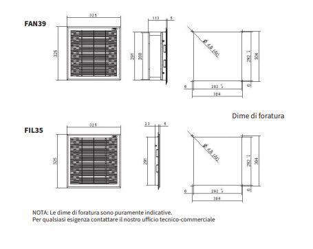 Fan39 Gruppi Di Ventilazione Con Filtro - LINEA CLIMATIZZAZIONE