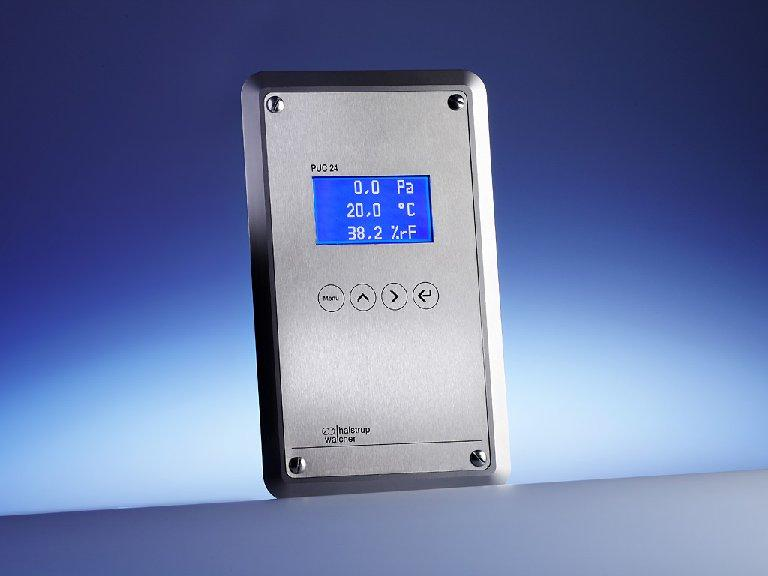Process monitoring device PUC 24 - Cleanroom panel for displaying air-conditioning data