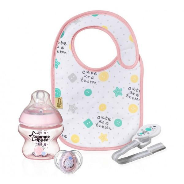 coffret cadeau naissance fille tommee tippee the family shop belgique. Black Bedroom Furniture Sets. Home Design Ideas
