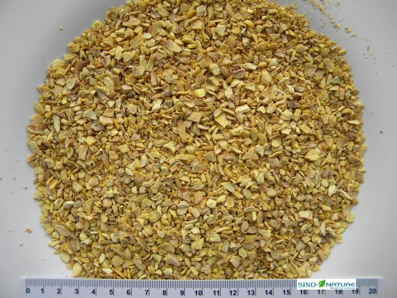 Ginger dried root peeled - Coarse cut