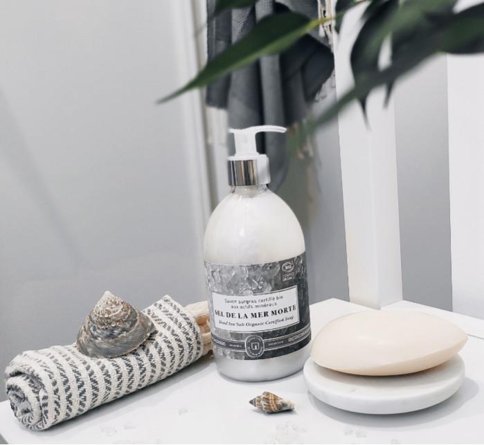 Savon Au Sel De La Mer Morte Certifié Cosmos Nat - Savon de soin parfumé