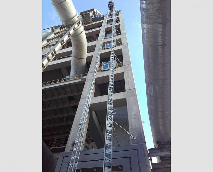 GEDA MULTILIFT P18 P - GEDA MULTILIFT P18 P - Personnel and Material Hoists