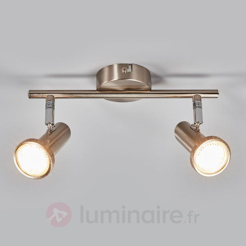 Spot LED Cosma à deux ampoules - Spots et projecteurs LED