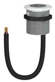 Bouton de commande tactile lumineux bicolore à technologie capacitive