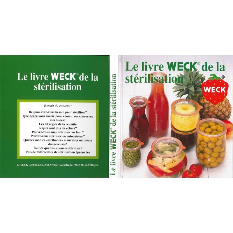 Il libro Weck per fare le sue conserve (francese) - Libri di ricette in vasetti Weck