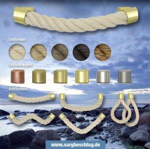 Seilgriffe für Möbel udn Särge - Seilgriffe aus Naturfaserseil