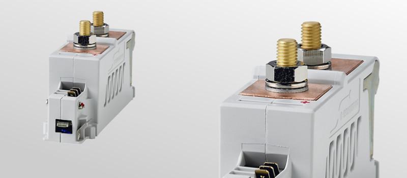 Einpolige Schließerschütze für USV-Anwendungen - Gleichstromschütze C400/C600